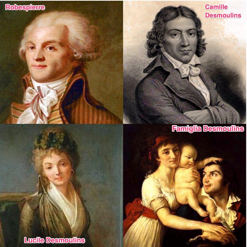 Famiglia Desmoulins e Robespierre