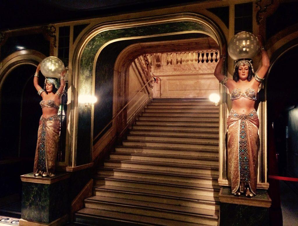 L'entrata d'accesso al primo piano musée Grévin 2016