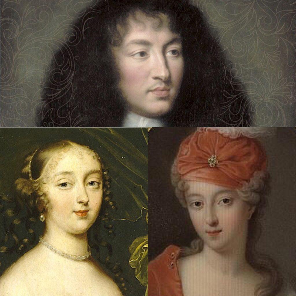 Louis XIV (Luigi XIV), Madame de Montespan e Mademoiselle de Blois