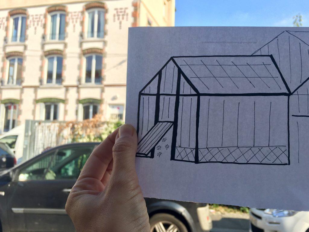 Montreuil, sito dello studio di Méliès