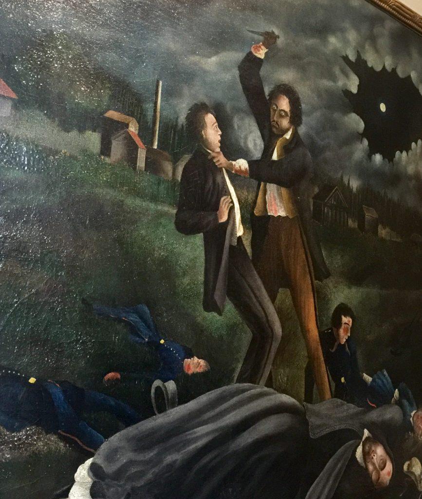 Il folle assassino (il crimine di Troppmann) 1869 (R. Douay, Musée de Montmartre)