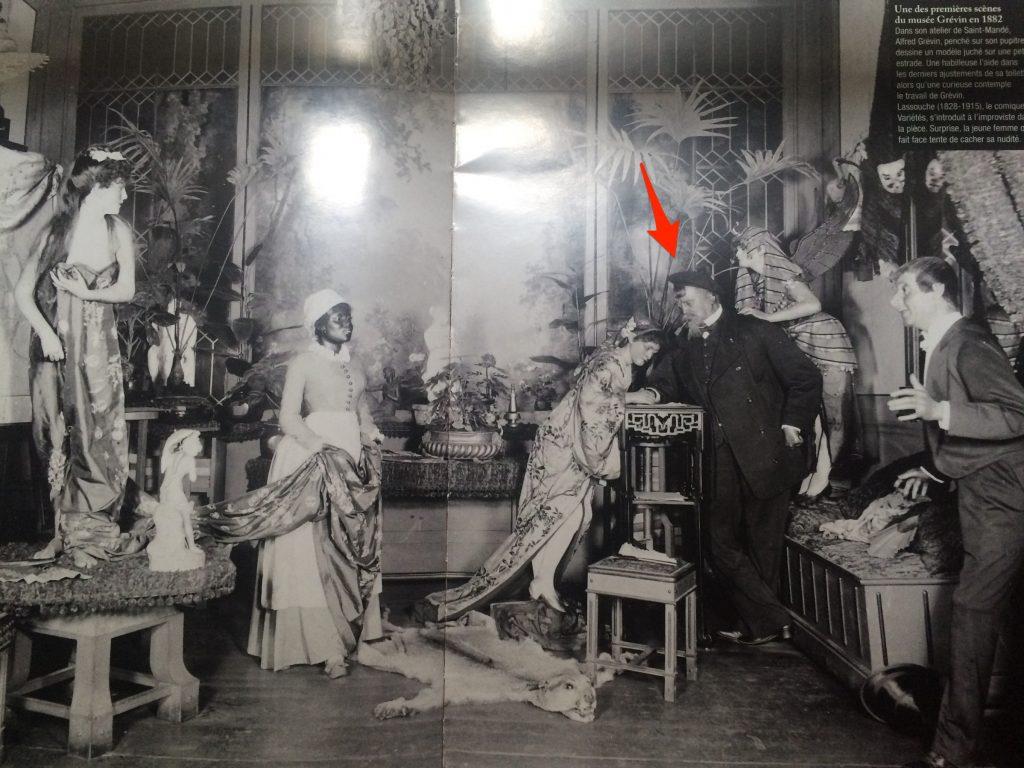 Una delle prime scene del museo Grévin