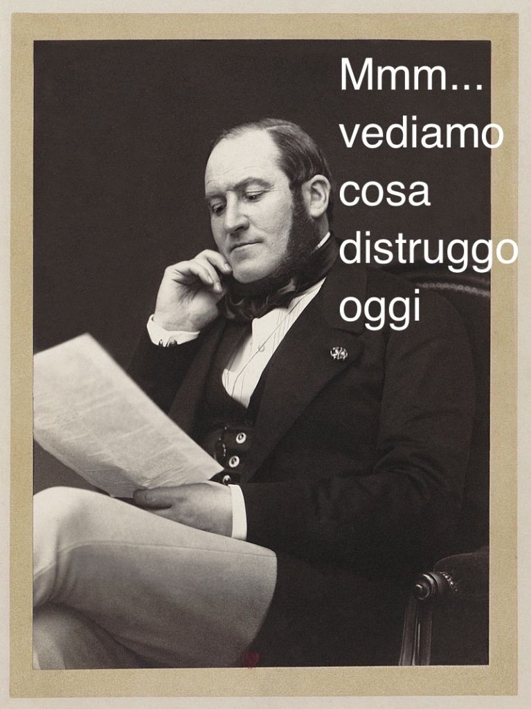 Il barone Haussmann