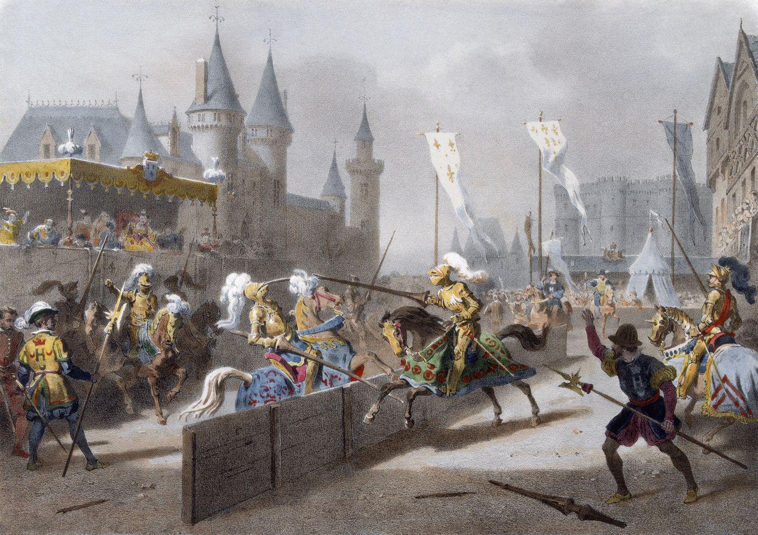 Il duello mortale di Henri II