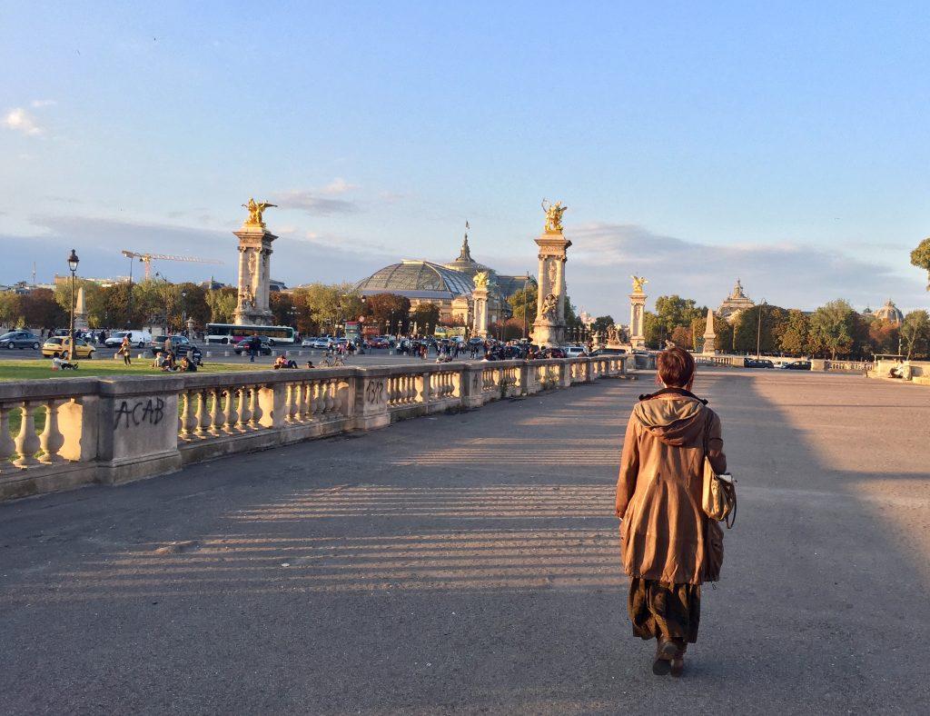 Io verso il Grand Palais