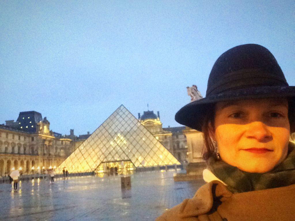 Io e il Louvre
