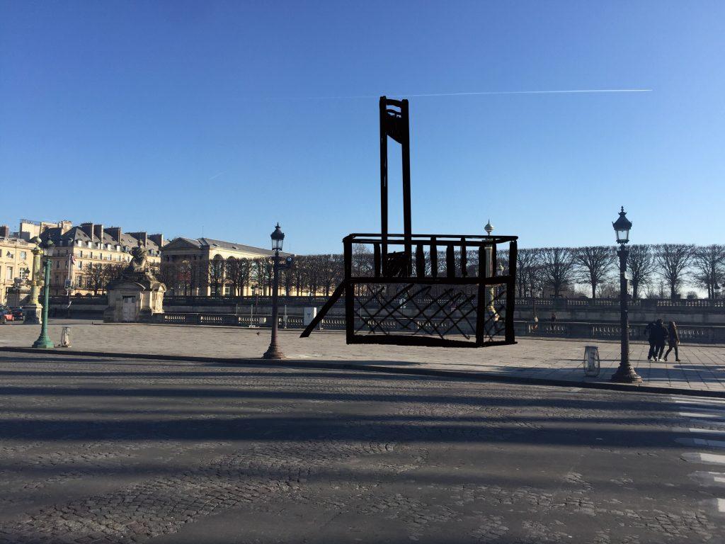 Place de la Concorde e ghigliottina