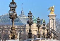 Il Grand Palais visto da sopra il ponte Alessandro III