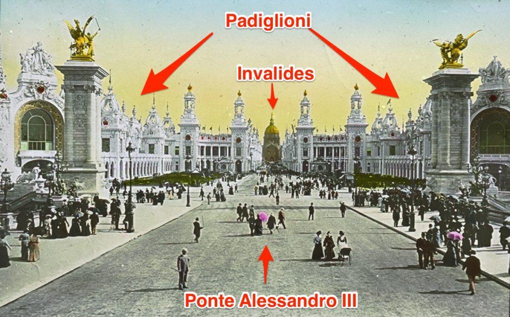 L'esplanade des Invalides 1900