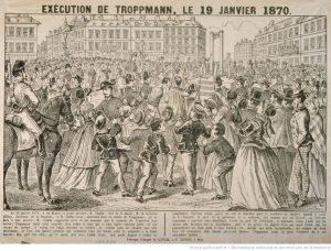 Esecuzione di Troppmann 1870