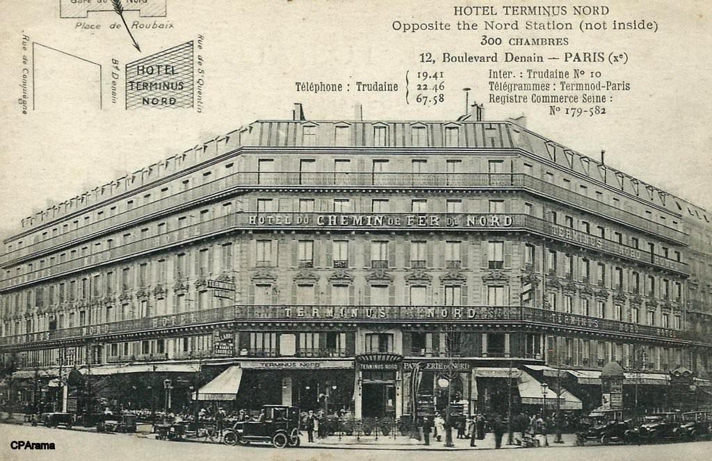 Hotel du chamin de fer du Nord