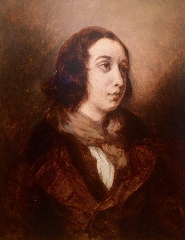 Delacroix ritratto di George Sand