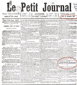Le Petit Journal Troppmann