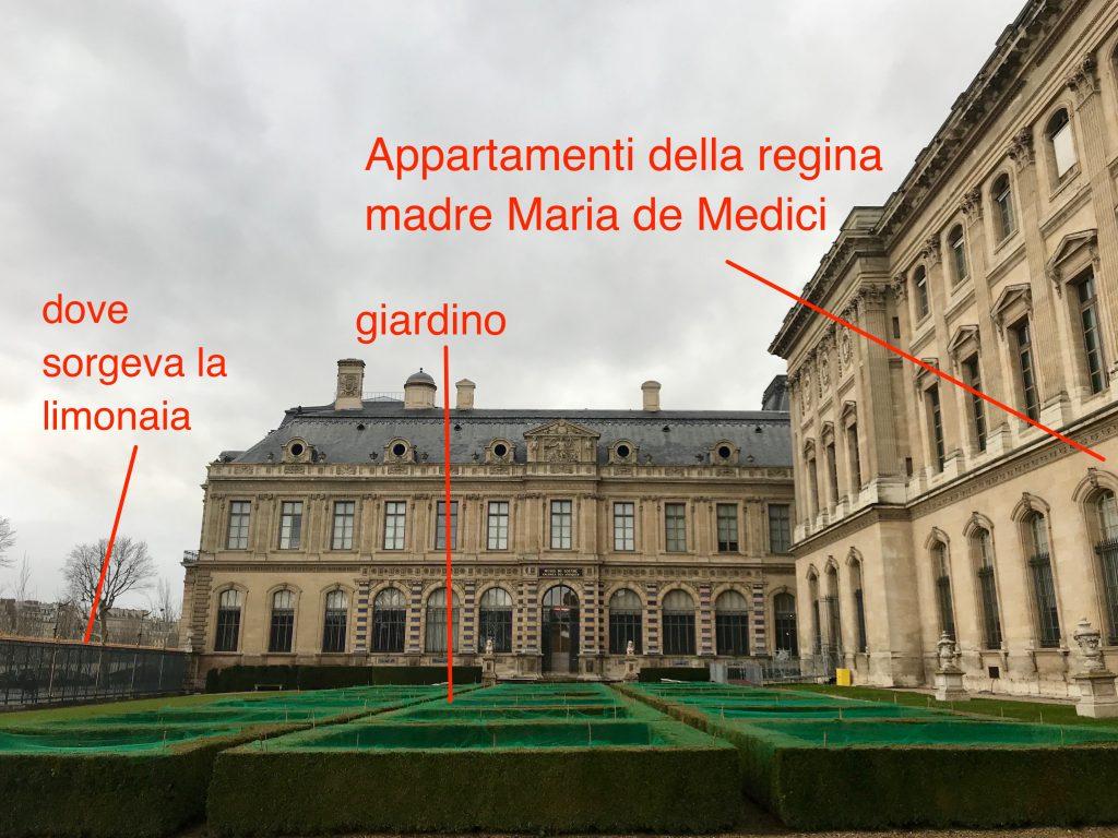 Giardino Maria de Medici Louvre