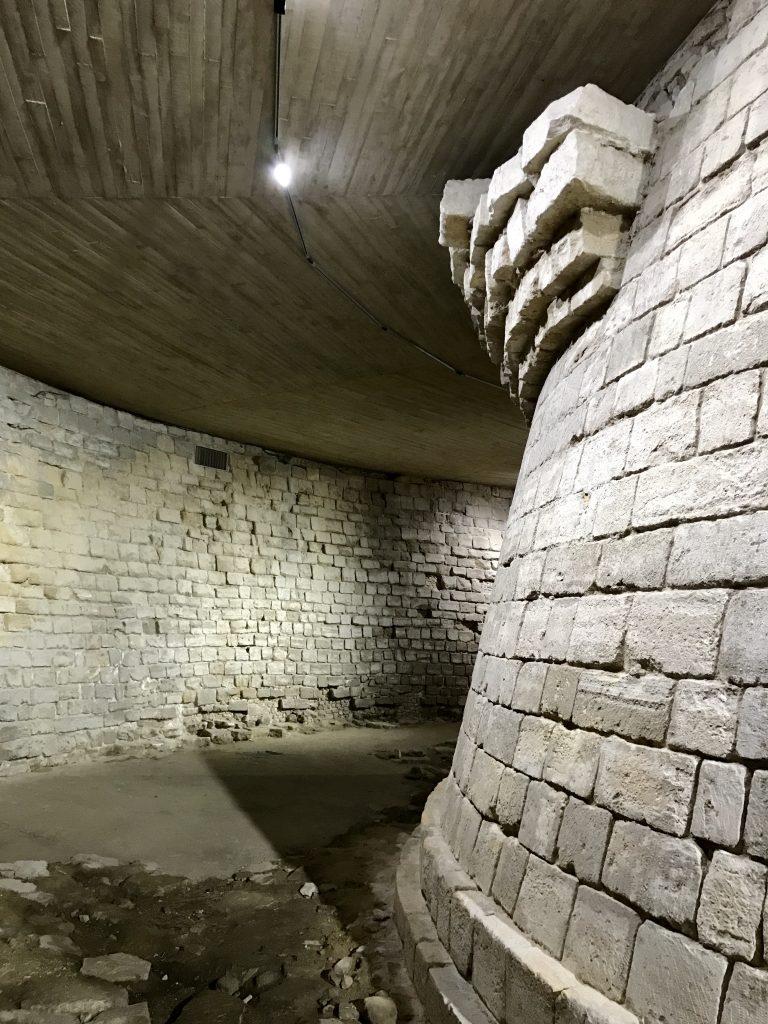 Fondamenta della fortezza del Louvre