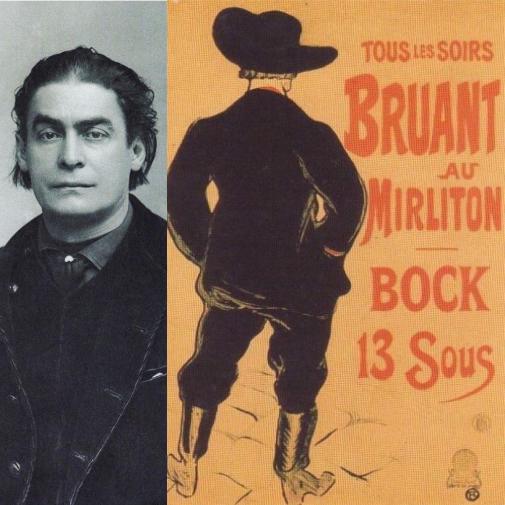 Aristide Bruant e locandina