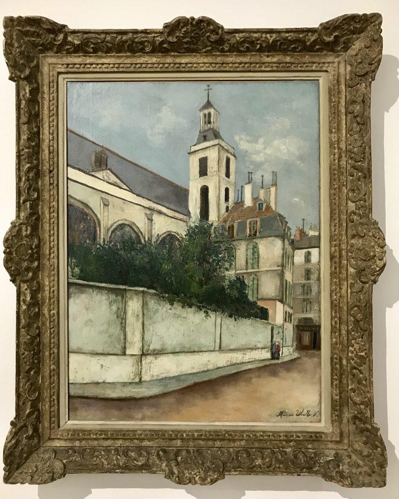 Maurice Utrillo, Église de Nôtre-Dame des Blancs-Manteax (1911)
