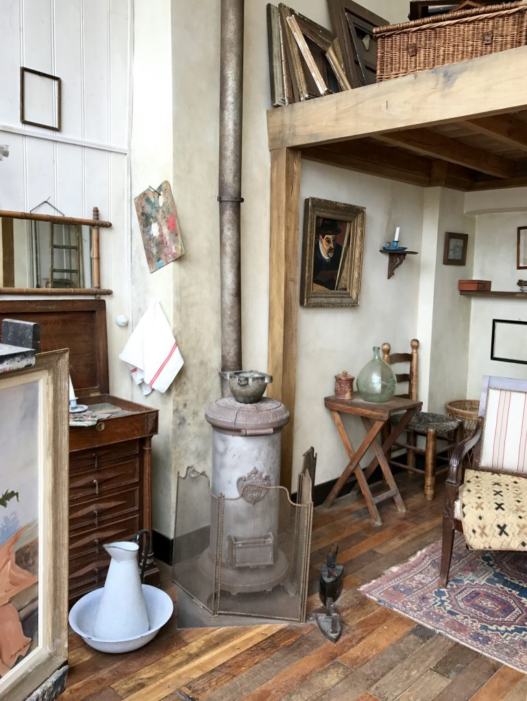 Dettaglio atelier Valadon
