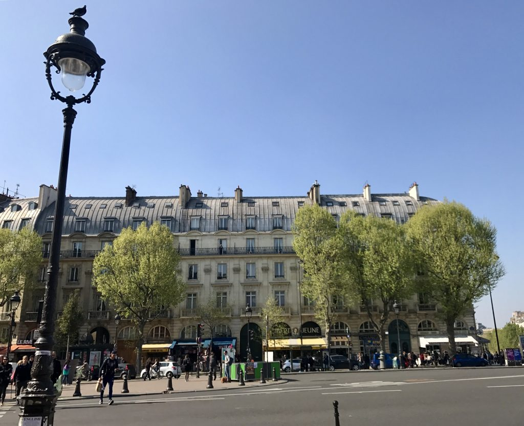 Boulevard Saint Michel palazzi
