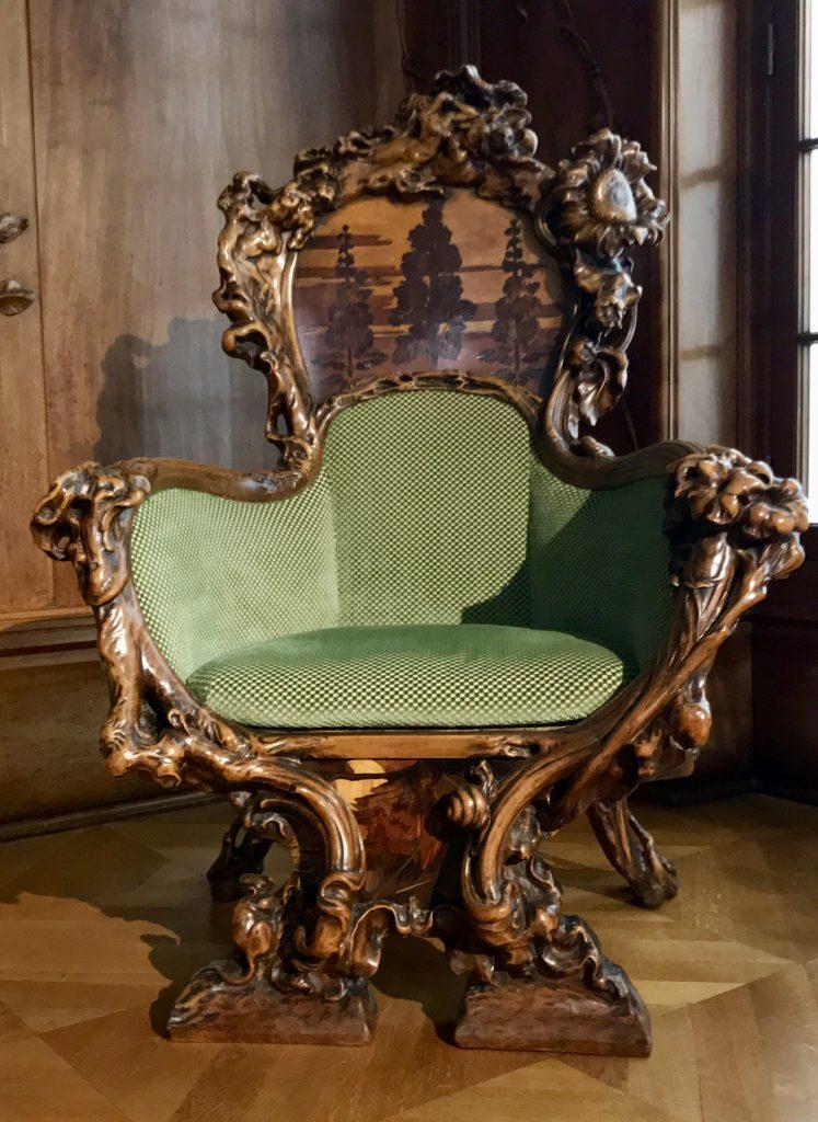 Poltrona Sarah Bernhardt