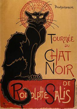 Steinlen Locandina Tournée Chat Noir