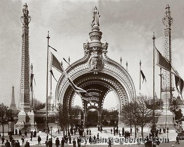 Porta monumentale Expo 1900