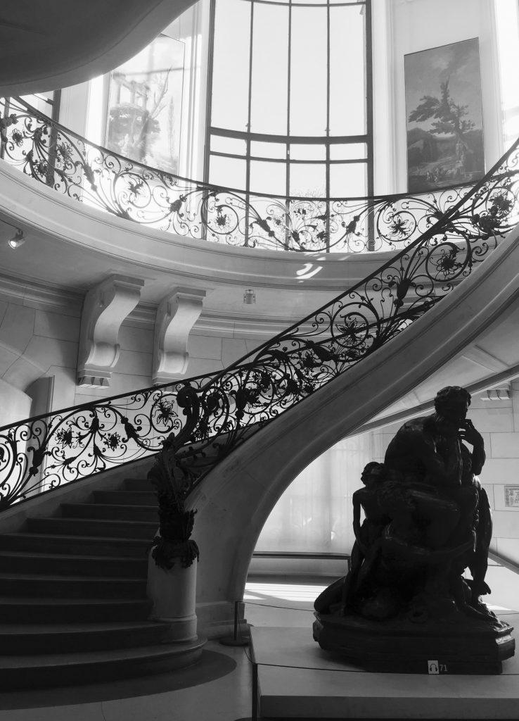 Petit Palais scalinata interna