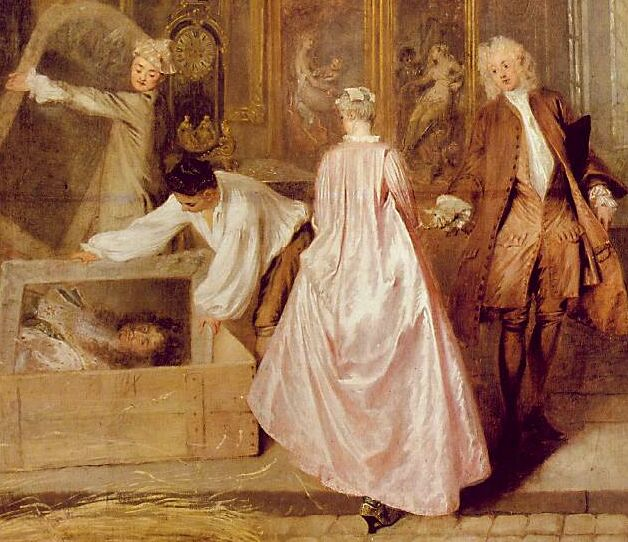 Watteau quadro