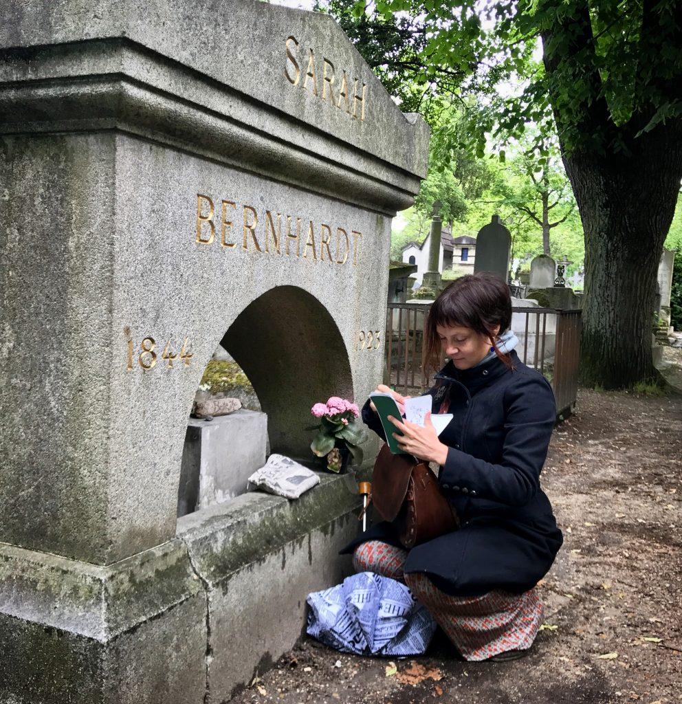 Io e tomba Sarah Bernhardt