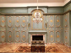 Interno parigino risalente al 1670-1720.