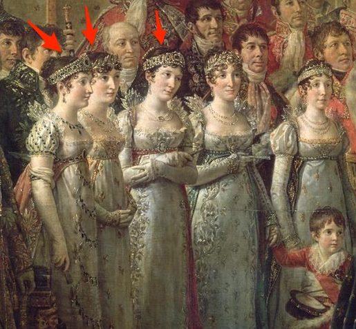 Sorelle di Napoleone (David)