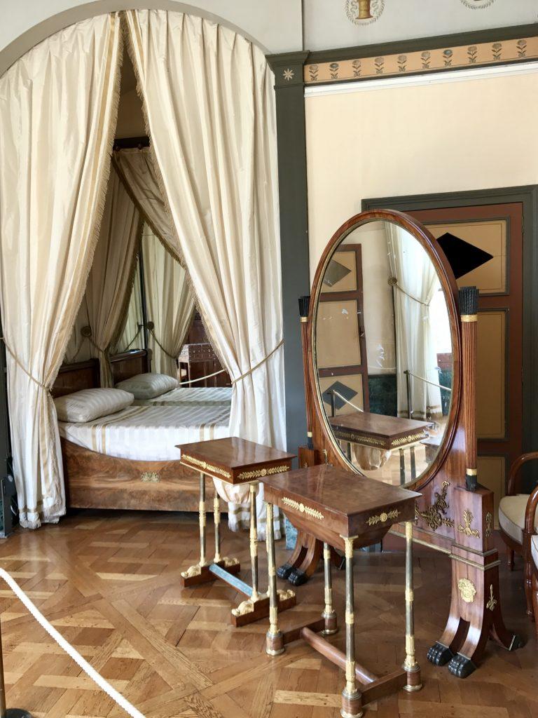 La vera camera da letto di Josephine