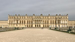 Versailles facciata lato giardini