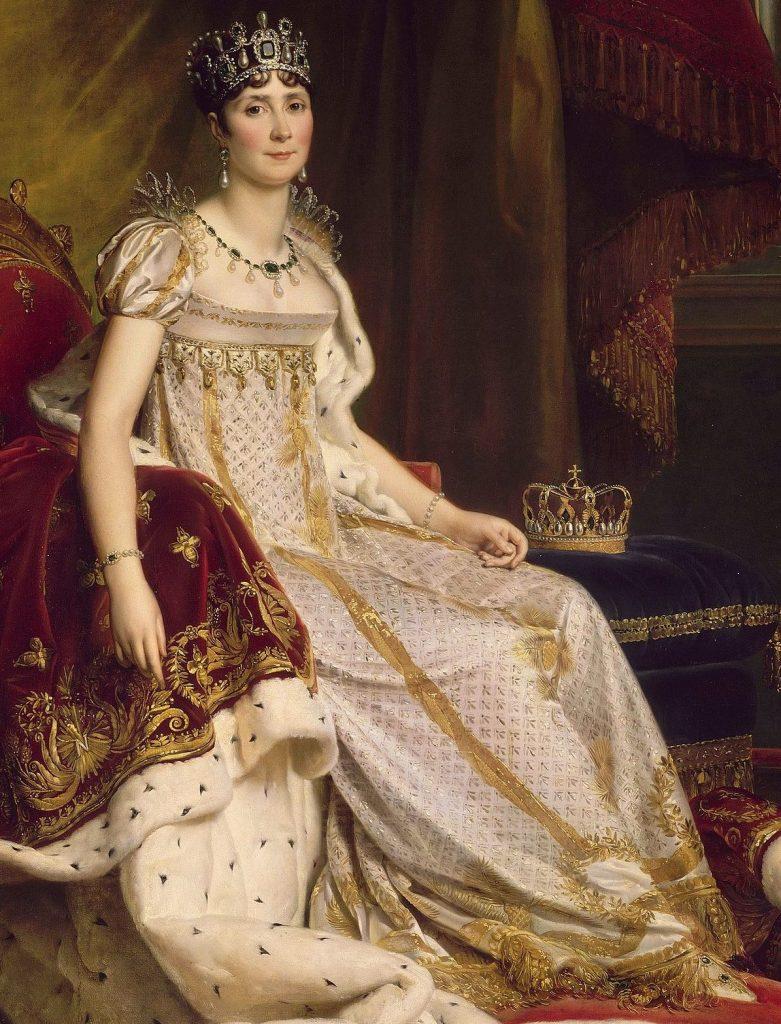 Joséphine in abito da cerimonia