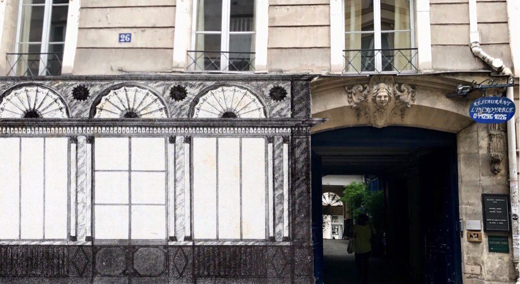 26, Rue Richelieu con boutique Bertin