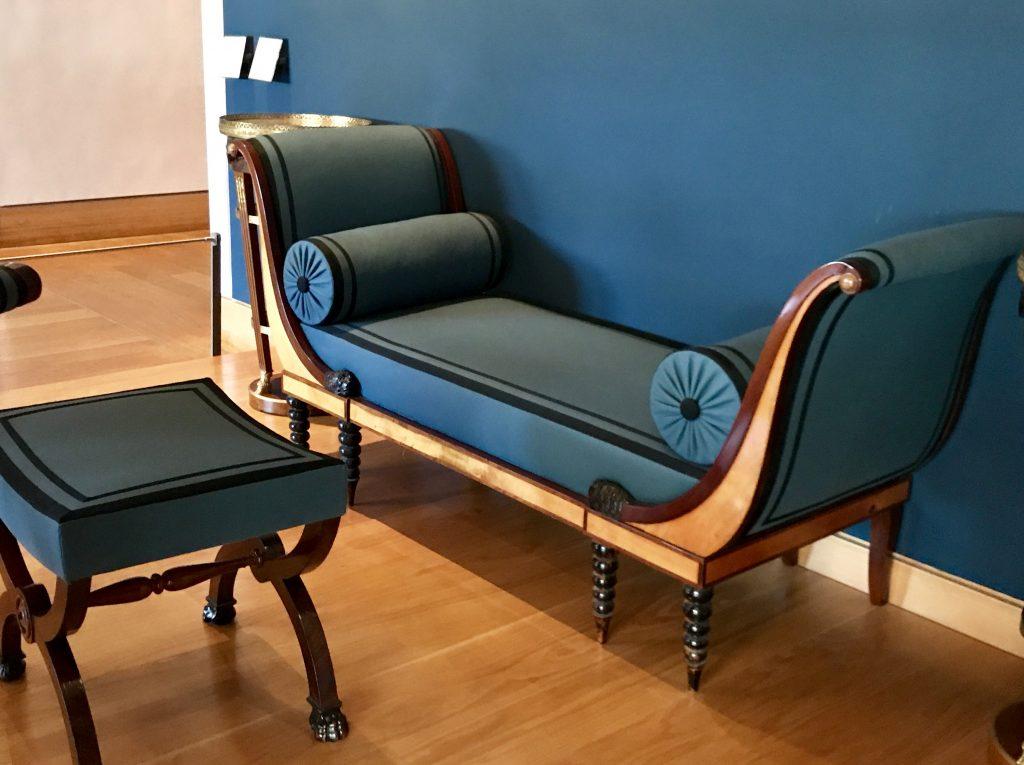 Chaise longue Récamier
