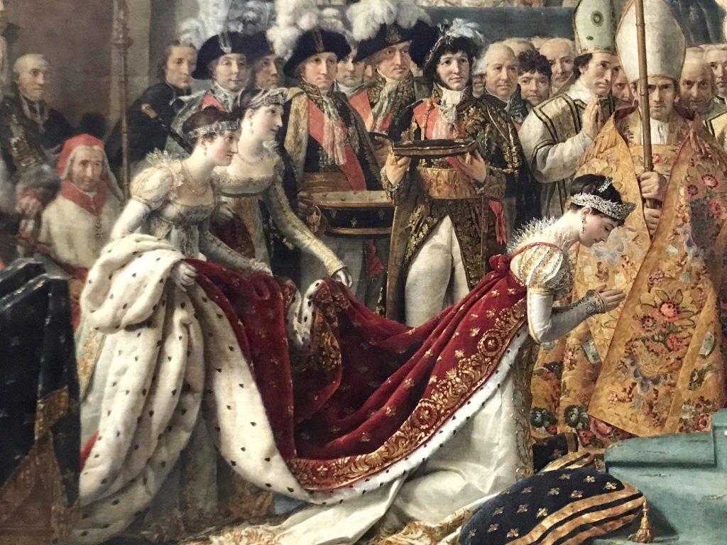 David, incoronazione di Joséphine