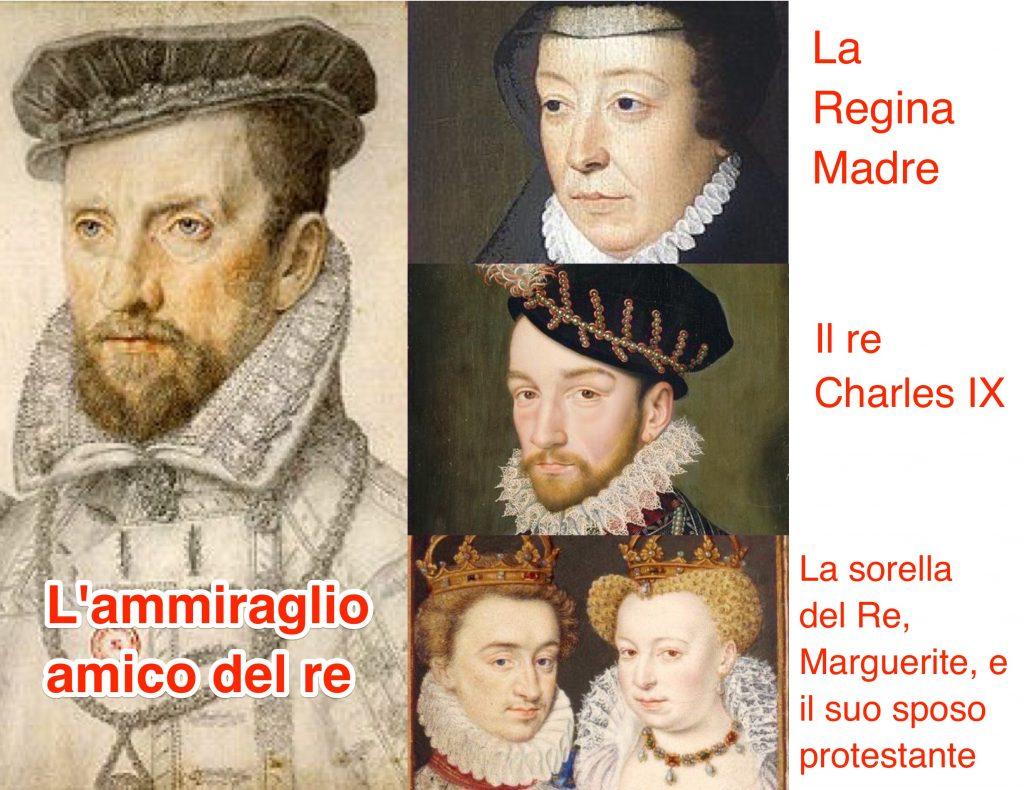 Notte di San Bartolomeo, personaggi