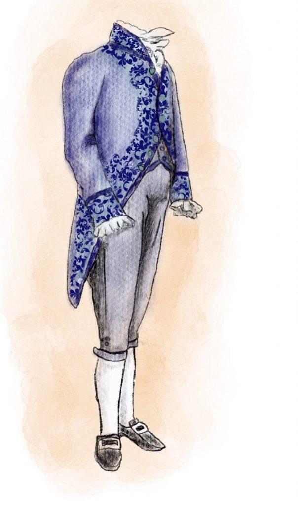 Abito elegante fino al 1820
