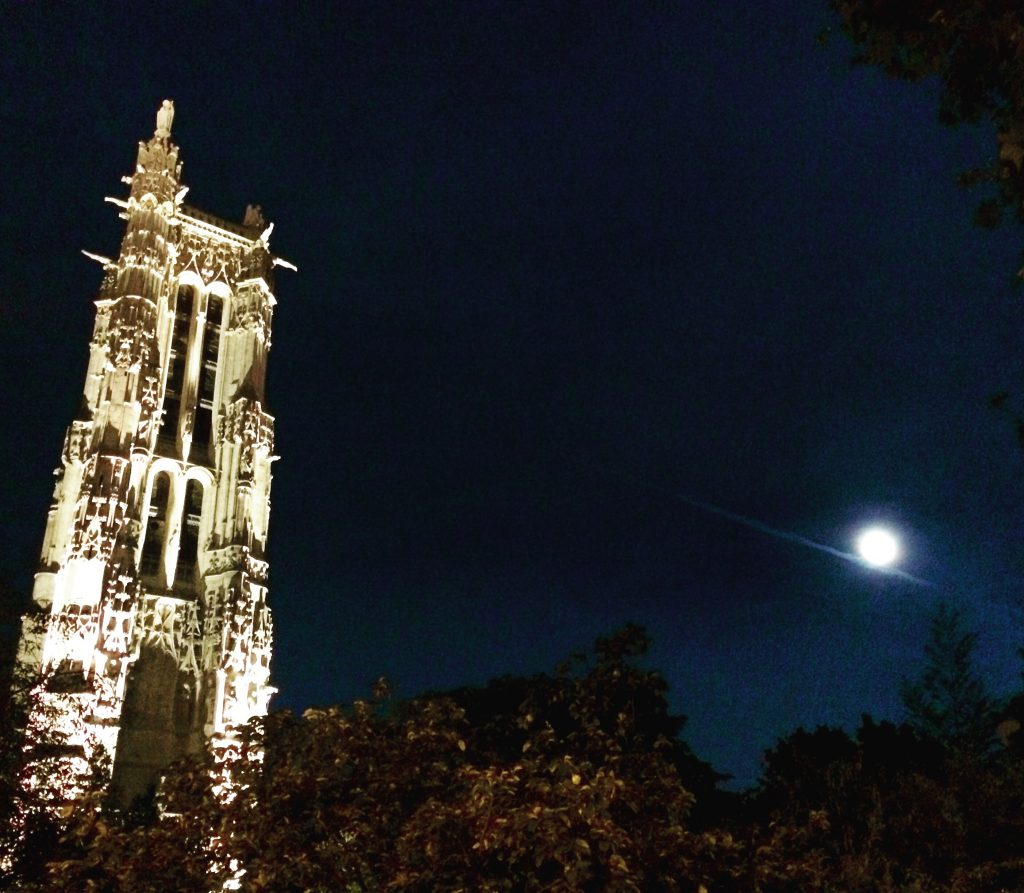 Tour Saint-Jacques night