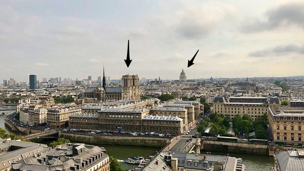 Nôtre-Dame e il Pantheon