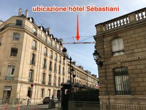 Ubicazione hôtel Sébastiani