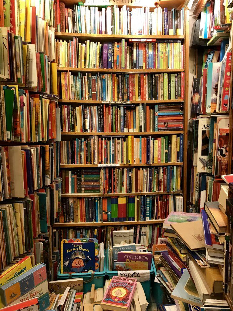 Interno abbey bookshop