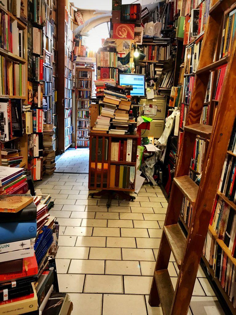 The bookshop Abbey interior