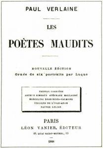 Copertina di Les Poètes Maudits di Paul Verlaine