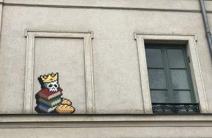 Invader Versailles