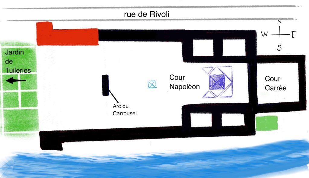 Louvre oggi