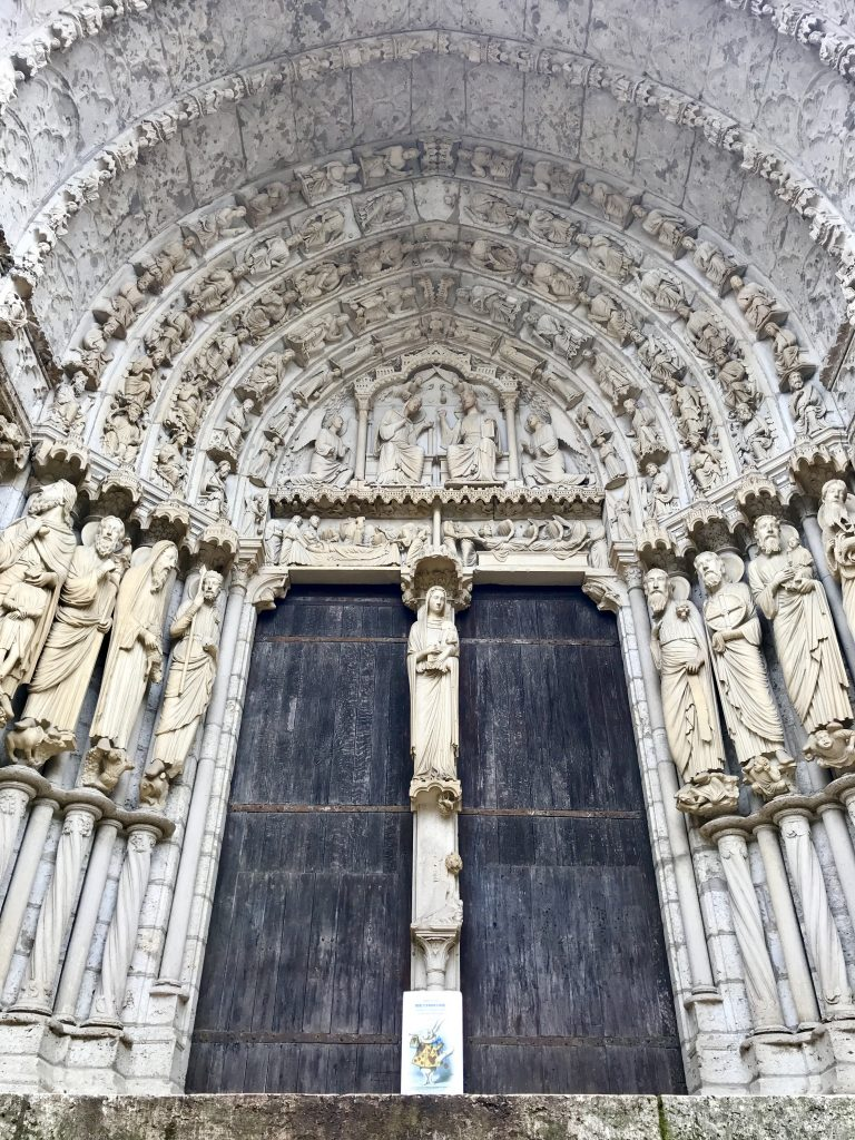Chartres portale nord