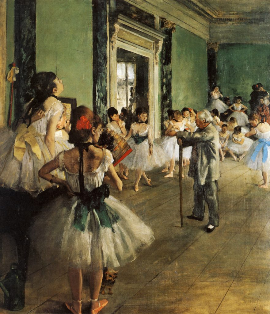 Degas La_classe_de_danse_1874