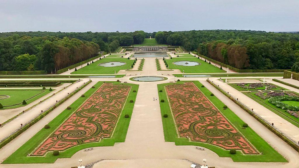 I giardini di Vaux-Le-Vicomte.